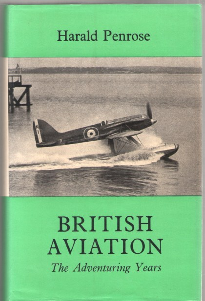 Image for British Aviation: The Adventuring Years