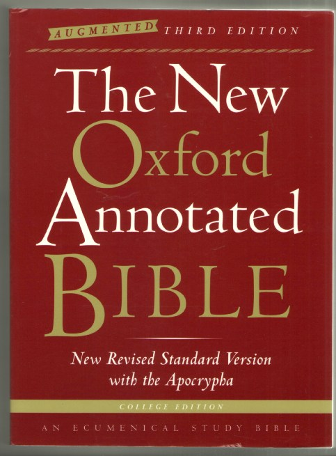 Image for The New Oxford Annotated Bible: New Revised Standard Version with the Apocrypha