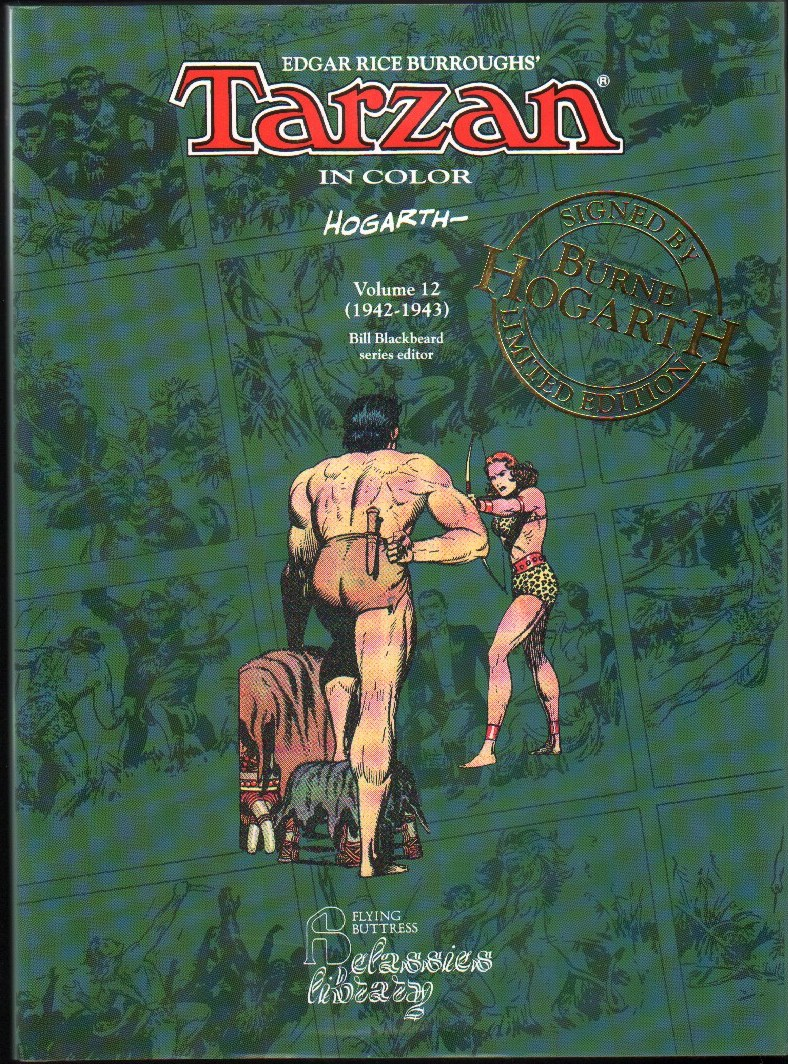 Image for Tarzan in Color: Volume 12 (1942-1943)