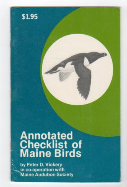 Image for Annotated Checklist of Maine Birds (in co-operation with Maine Audubon Society)
