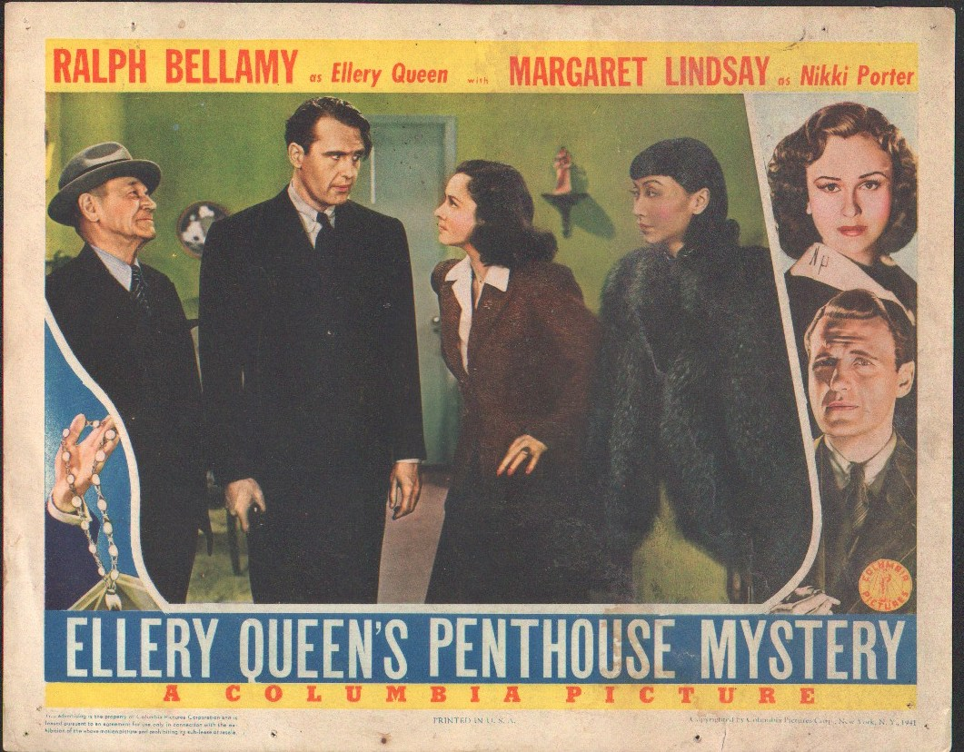 "Image for ""Ellery Queen's Penthouse Mystery"""