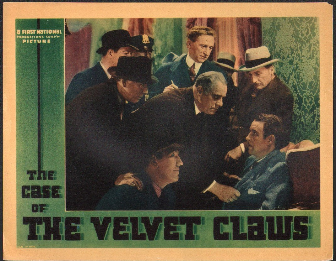"Image for ""The Case of the Velvet Claws"""