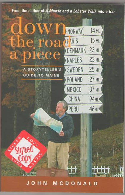 Image for Down the Road a Piece: A Storyteller's Guide to Maine