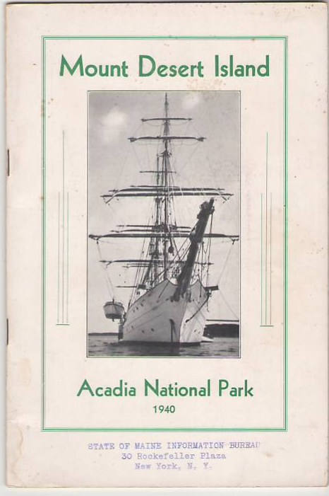 Image for Mount Desert Island / Acadia National Park 1940