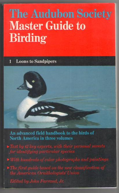 Image for The Audubon Society Master Guide to Birding: Vol 1, Loons to Sandpipers