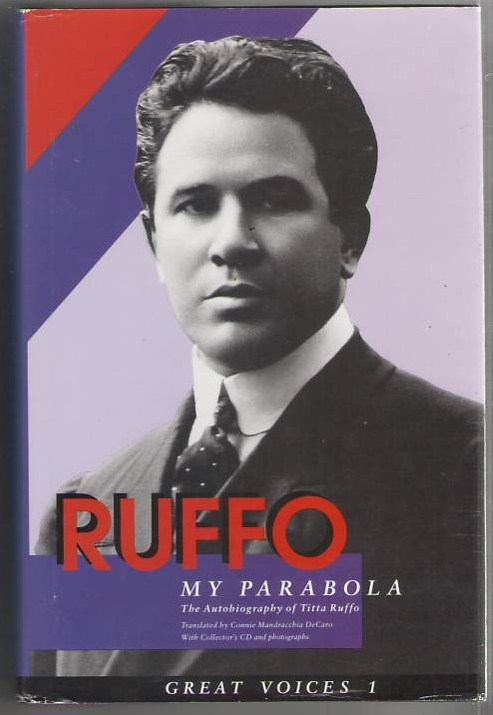 Image for Ruffo: My Parabola, The Autobiography of Titta Ruffo (Great Voices 1)