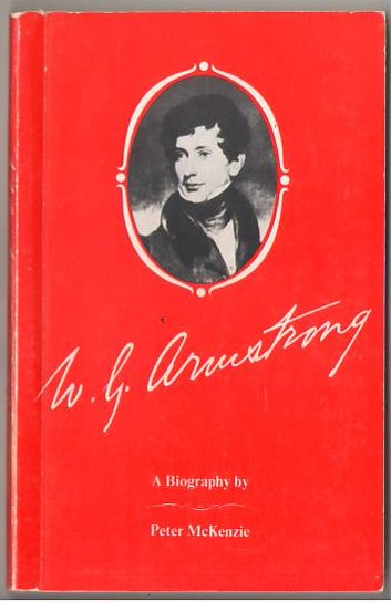 Image for W. G. Armstrong: The Life and Times of Sir William George Armstrong, Baron Armstrong of Cragside