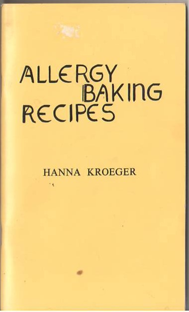 Image for Allergy Baking Recipes