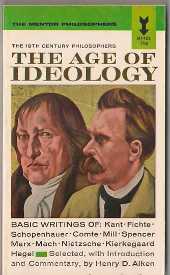 Image for The Age of Ideology: The 19th Century Philosophers