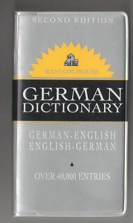 Image for Random House German Dictionary