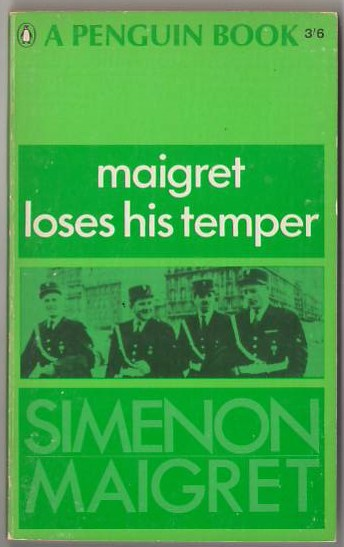 Image for Maigret Loses His Temper
