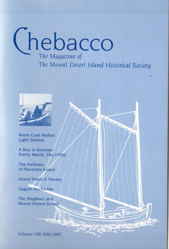 Image for Chebacco: The Magazine of The Mount Desert Island Historical Society