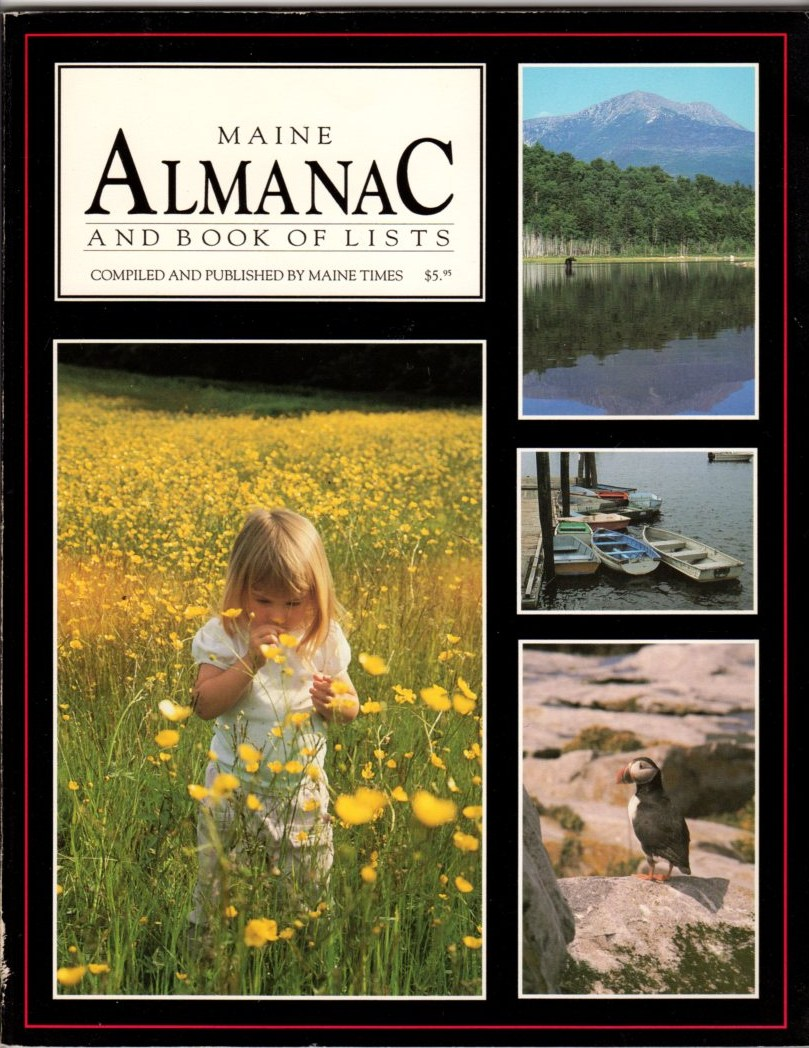 Image for Maine Almanac and Book of Lists