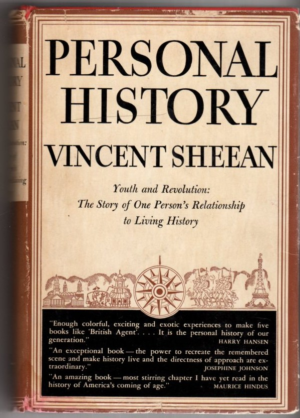 Image for Personal History: Youth and Revolution: the Story of One Person's Relationship to Living History