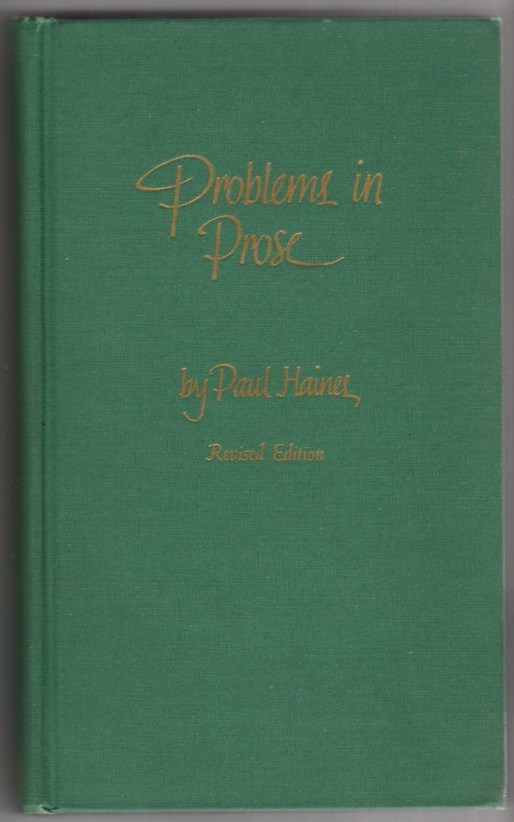 Image for Problems in Prose