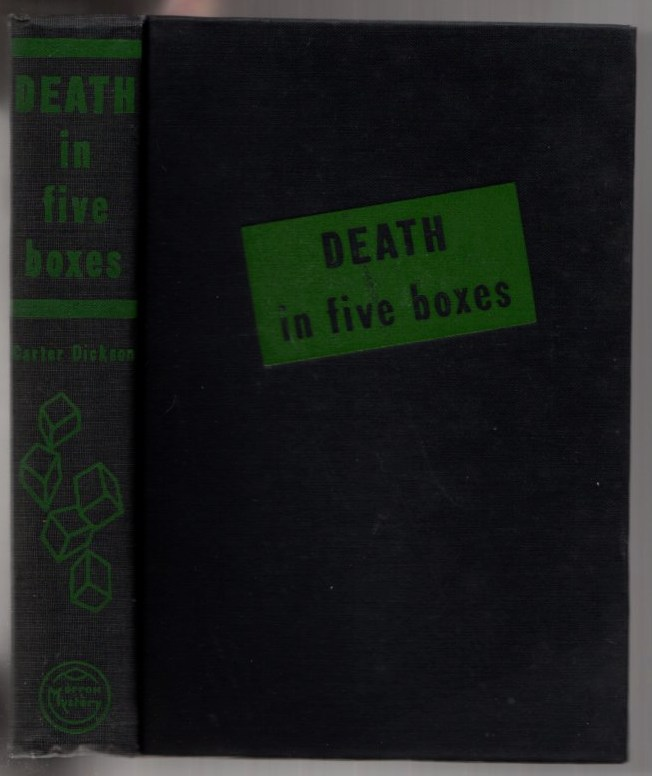 Image for Death in Five Boxes