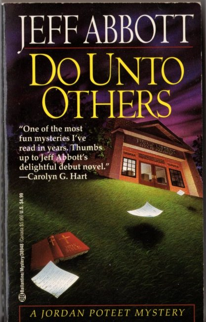 Image for Do Unto Others: A Jordan Poteet Mystery