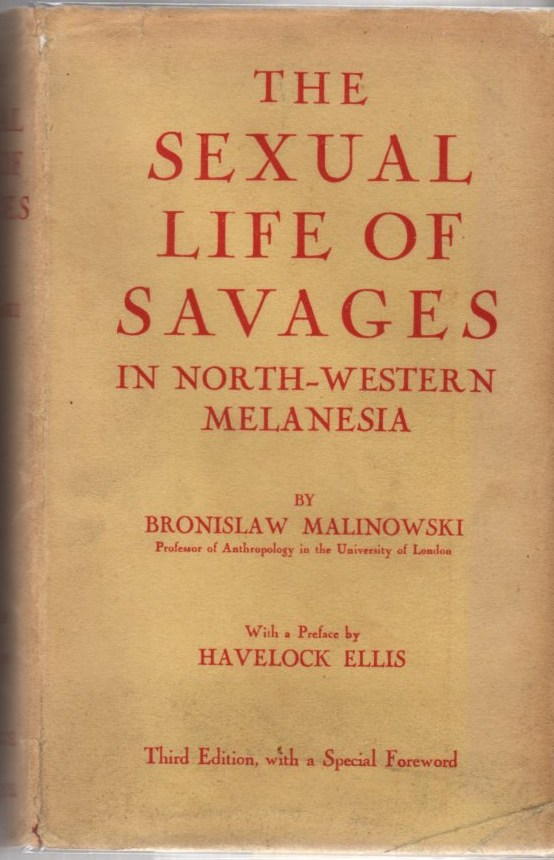 Image for The Sexual Life of Savages in North-Western Melanesia