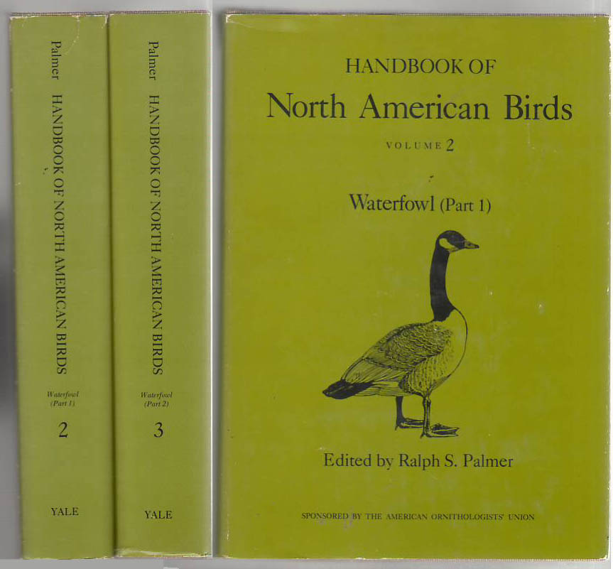 Image for Handbook of North American Birds Volumes 2 & 3 Waterfowl (Parts 1 & 2 of 2)
