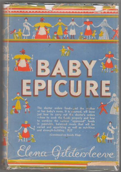Image for Baby Epicure: Appetizing Dishes for Children and Invalids