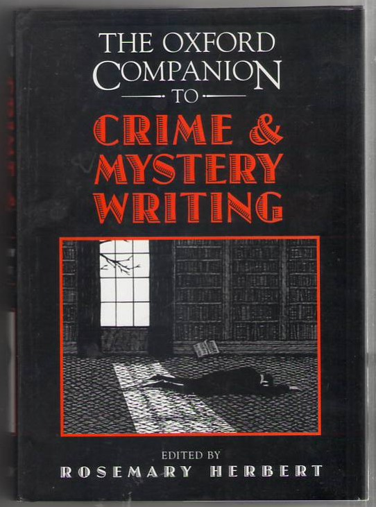 Image for The Oxford Companion to Crime and Mystery Writing