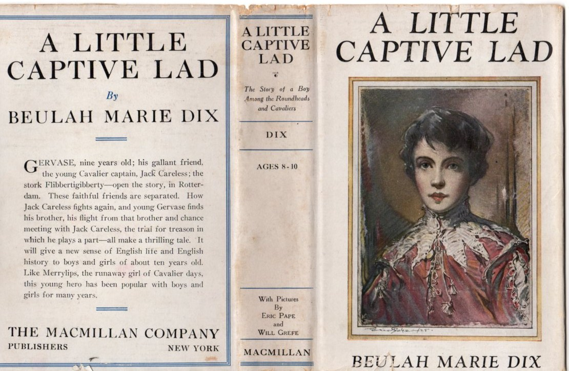 Image for A Little Captive Lad: The Story of a Boy Among the Roundheads and Cavaliers