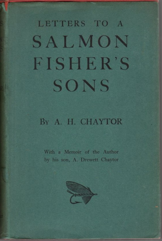 Image for Letters to a Salmon Fisher's Sons