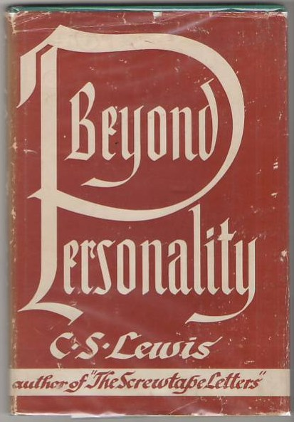 Image for Beyond Personality: The Christian Idea of God