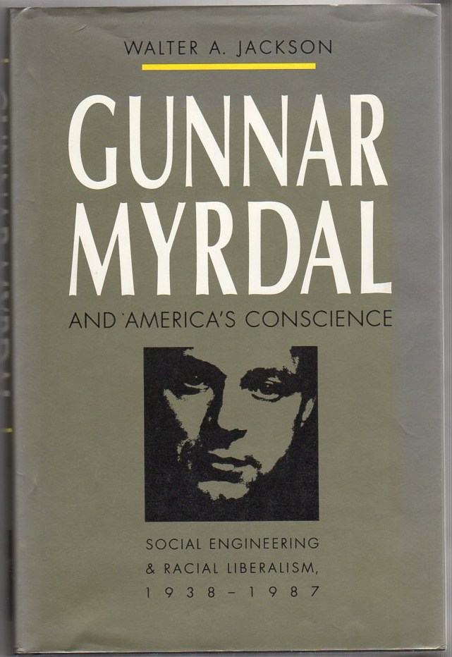 Image for Gunnar Myrdal and America's Conscience