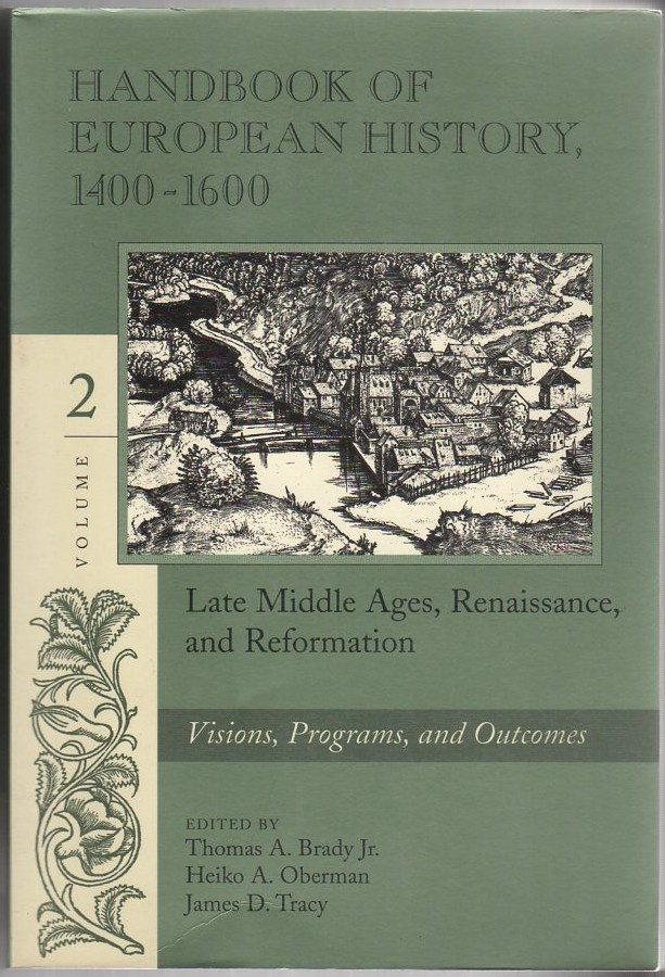 Image for Handbook of European History 1400-1600: Late Middle Ages, Renaissance and Reformation, Vol. 2