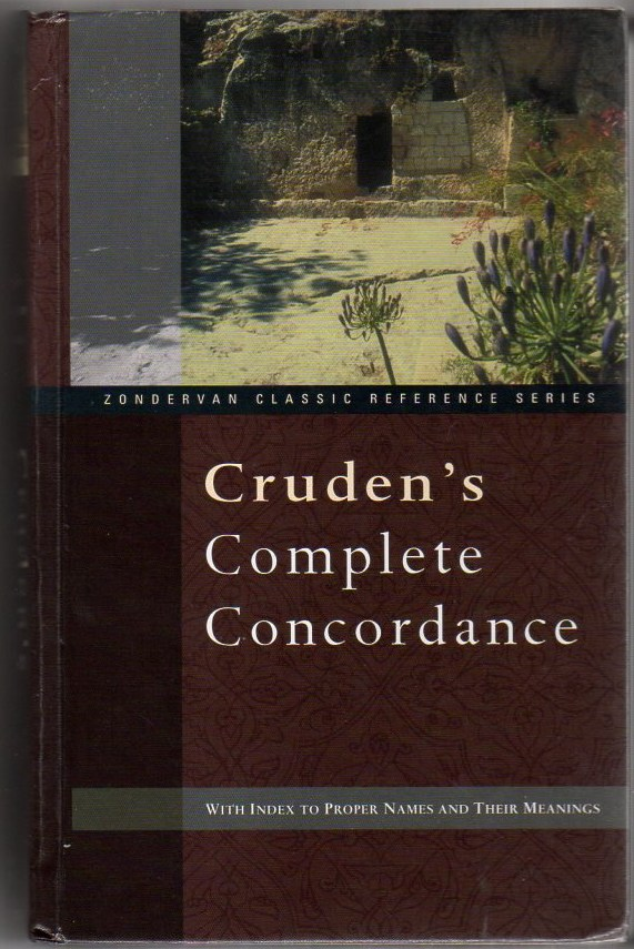 Image for Cruden's Complete Concordance