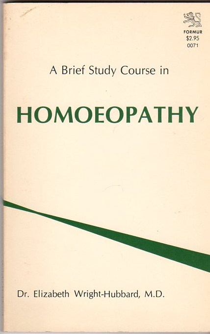 Image for A Brief Course in Homoeopathy