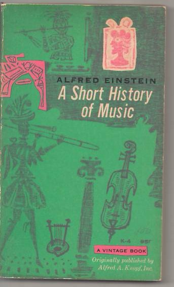 Image for A Short History of Music