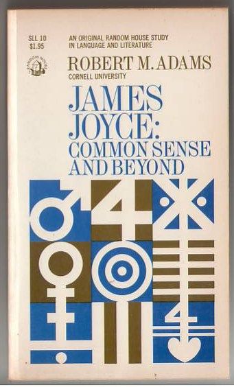 Image for James Joyce: Common Sense and Beyond