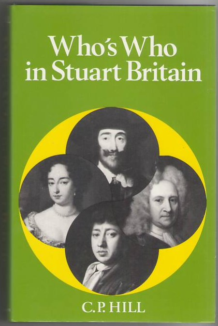 Image for Who's Who in Stuart Britain