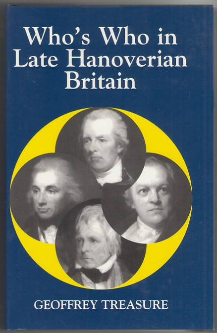 Image for Who's Who in Late Hanoverian Britain (1789-1837)