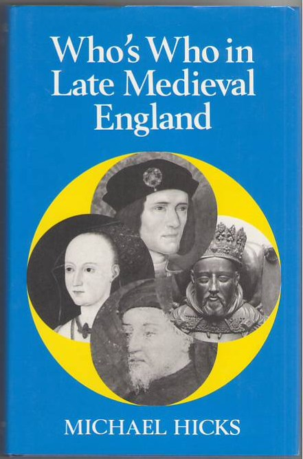 Image for Who's Who in Late Medieval England