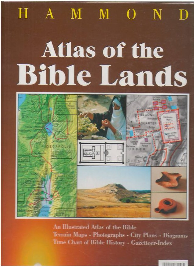 Image for Atlas of the Bible Lands