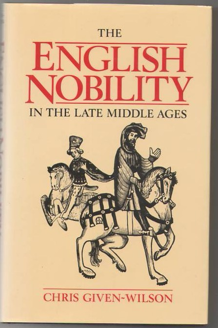 Image for The English Nobility in the Late Middle Ages