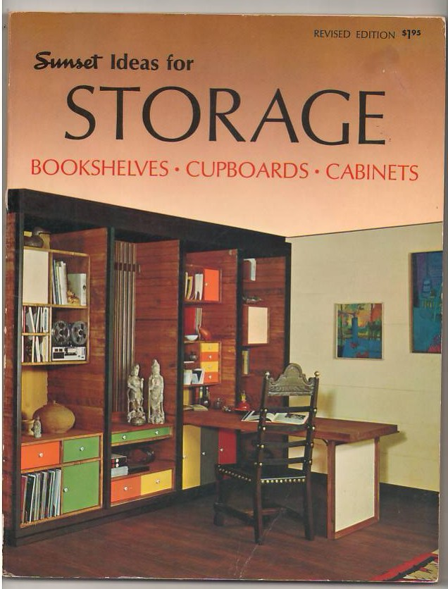 Image for Ideas for Storage: Bookshelves, Cupboards, Cabinets