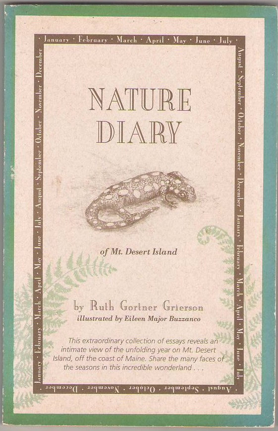Image for Nature Diary of Mt. Desert Island