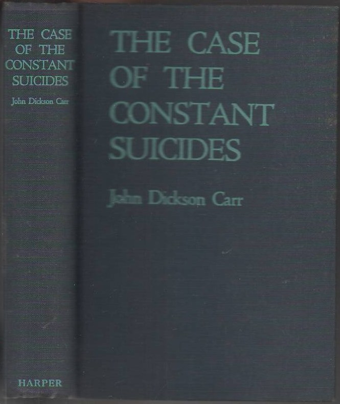 Image for The Case of the Constant Suicides