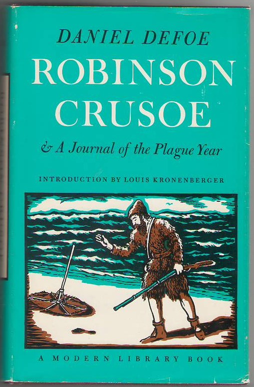 Image for Robinson Crusoe & A Journal of the Plague Year