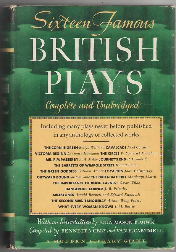 Image for Sixteen Famous British Plays
