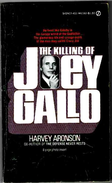Image for The Killing of Joey Gallo