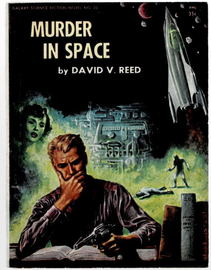 Image for Murder in Space (Galaxy Science Fiction Novel #23)