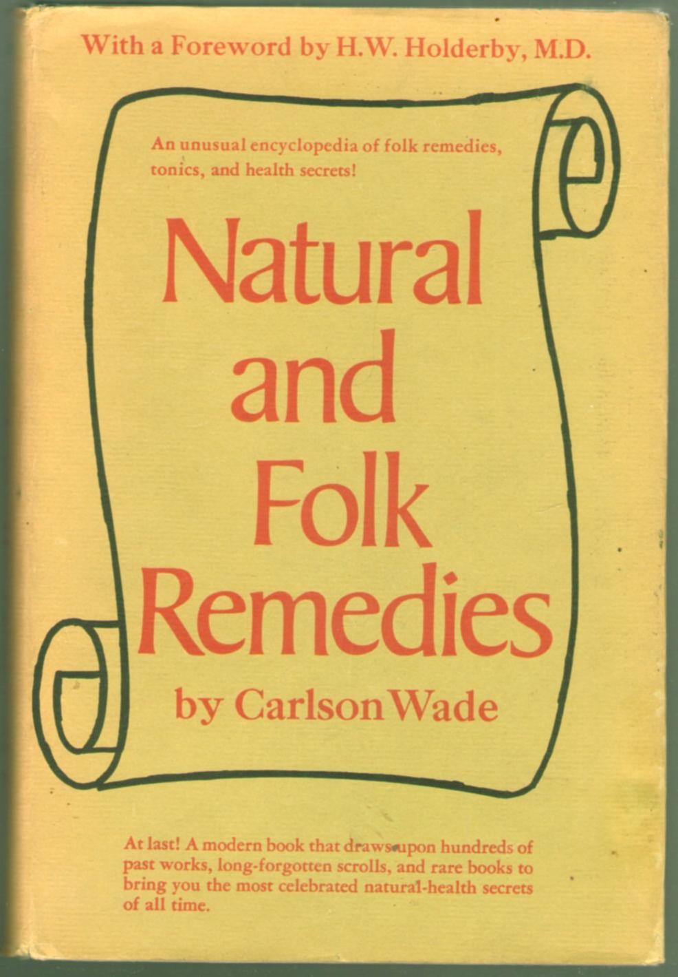 Image for Natural and Fold Remedies