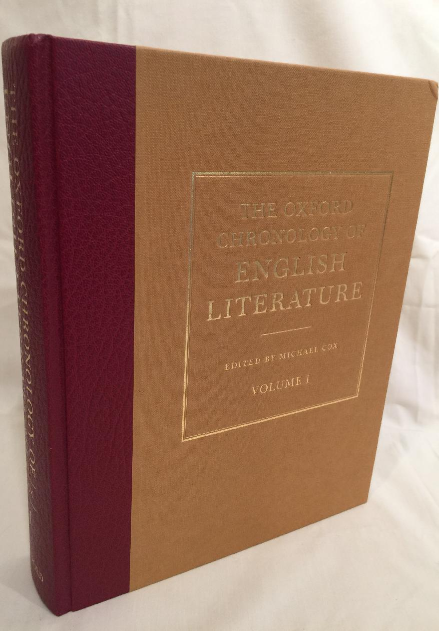 Image for The Oxford Chronology of English Literature (2 volumes)