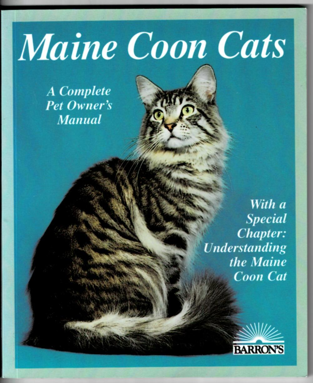 Image for Maine Coon Cats: A Complete Pet Owner's Manual