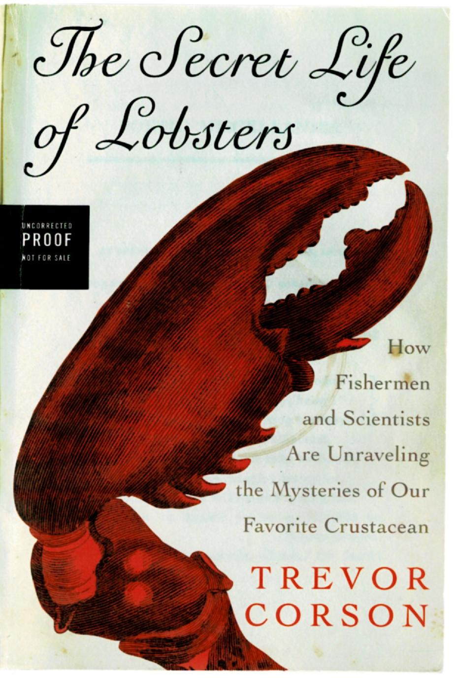 Image for The Secret Life of Lobsters